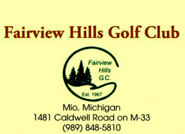 Fairview Hills Golf Club,Mio, Michigan,  - Golf Course Photo