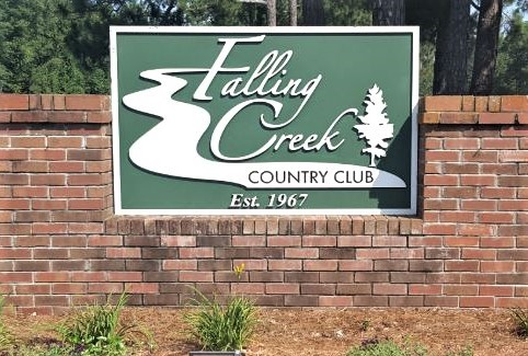 Falling Creek Country Club, Kinston, North Carolina,  - Golf Course Photo