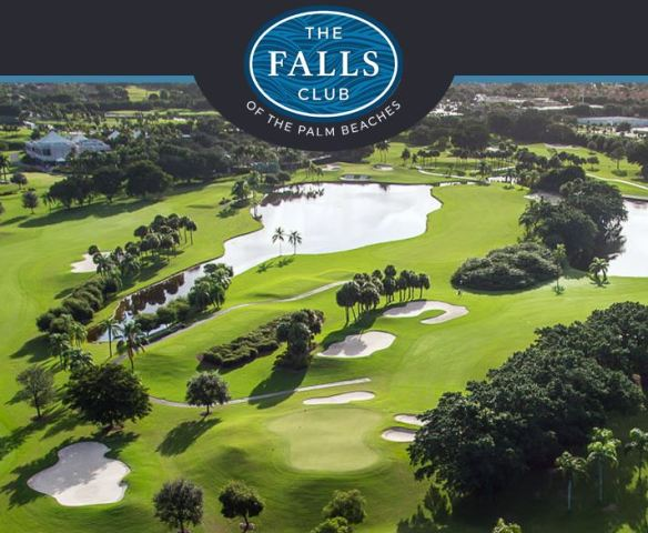 Falls Club of the Palm Beaches , Lake Worth, Florida,  - Golf Course Photo