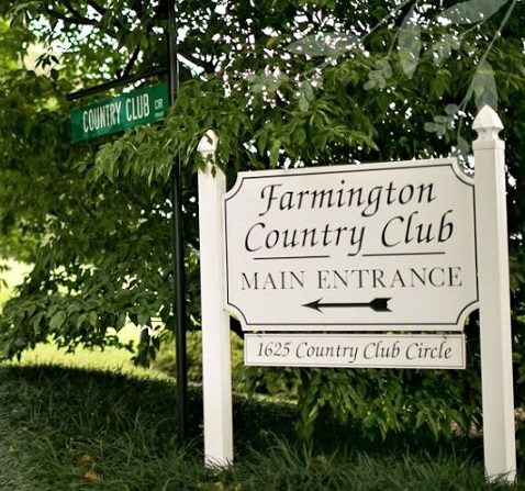Golf Course Photo, Farmington Country Club, Charlottesville, Virginia, 22901