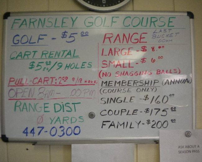 Farnsley Golf Center | Farnsley Golf Course, CLOSED 2016