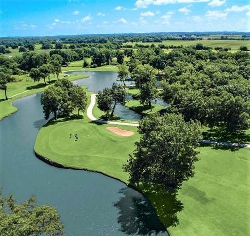 Fire Lake Golf Course, Shawnee, Oklahoma,  - Golf Course Photo