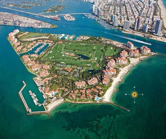 Fisher Island Club, Fisher Island, Florida,  - Golf Course Photo
