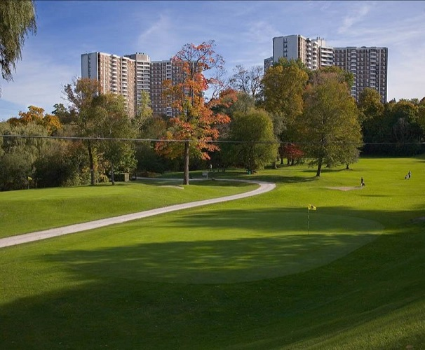 Flemington Park Golf Course, Don Mills, Ontario,  - Golf Course Photo