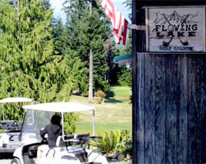 Flowing Lake Golf Course, CLOSED 2013,Snohomish, Washington,  - Golf Course Photo