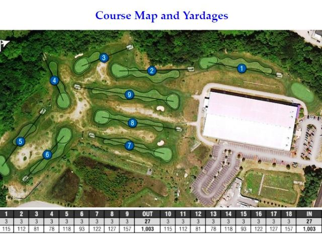 Fore Kicks Golf & Indoor Sports Complex, Norfolk, Massachusetts,  - Golf Course Photo