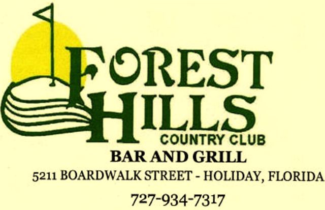 Forest Hills Golf Course,Holiday, Florida,  - Golf Course Photo