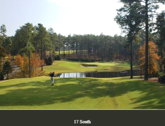 Golf Course Photo, Forest Creek Golf Club, South Course, Pinehurst, 28374