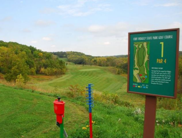 Fort Ridgely State Park Golf Course, CLOSED 2016,Fairfax, Minnesota,  - Golf Course Photo