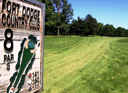 Golf Course Photo, Fort Dodge Country Club, Fort Dodge, Iowa, 50501