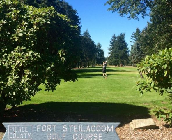 Fort Steilacoom Golf Course, CLOSED 2018, Lakewood, Washington,  - Golf Course Photo