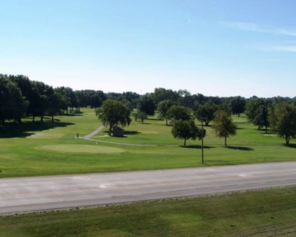 Golf Course Photo, Four Oaks Golf Course, Pittsburg, Kansas, 66762