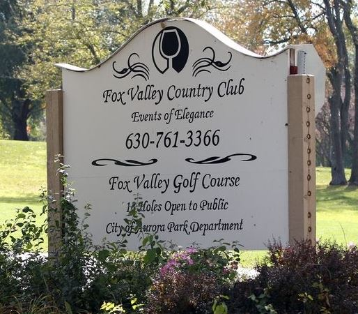 Golf Course Photo, Fox Valley Golf Club, CLOSED 2015, North Aurora, 60542