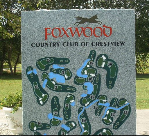 Foxwood Country Club Of Crestview, CLOSED 2016, Crestview, Florida, 32536 - Golf Course Photo