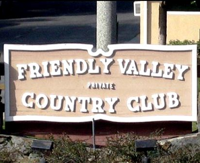 Friendly Valley Golf Course, Newhall, California, 91321 - Golf Course Photo
