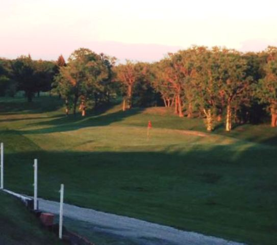 Garden Gate Golf Course, Dunseith, North Dakota,  - Golf Course Photo