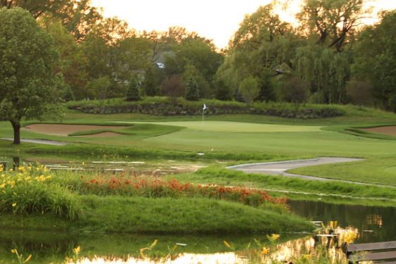 Glenview Park Golf Club, Glenview, Illinois,  - Golf Course Photo