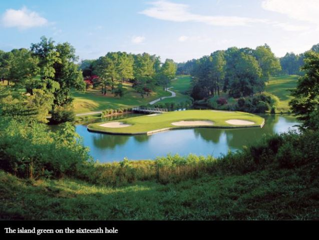 Golden Horseshoe Golf Club, The Gold Course, Williamsburg, Virginia,  - Golf Course Photo