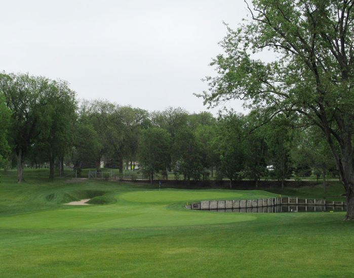 Golf Course Photo, Golden Valley Country Club, Golden Valley, Minnesota, 55427