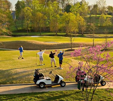 Rock Barn Golf and Spa, Jackson Course,Conover, North Carolina,  - Golf Course Photo