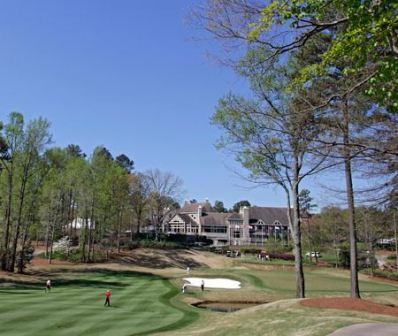 Golf Course Photo, Golf Club Of Georgia, Creekside, Alpharetta, 30005