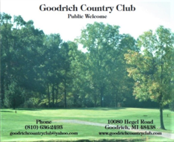 Golf Course Photo, Goodrich Country Club, Goodrich, 48438