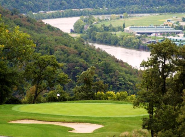 Golf Course Photo, Grand View Golf Club, North Braddock, Pennsylvania, 15104