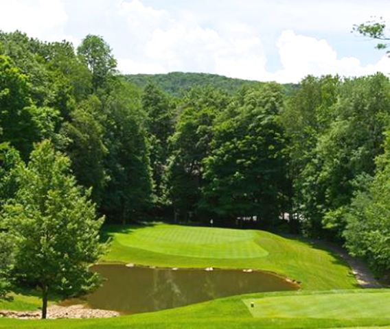 Grandfather Golf & Country Club, Mountain Springs Course, Linville, North Carolina,  - Golf Course Photo