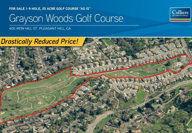 Grayson Woods Golf Course, CLOSED 2015,Pleasant Hill, California,  - Golf Course Photo