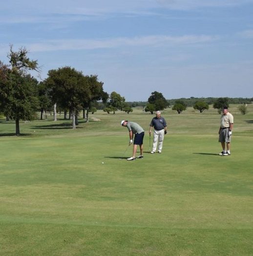 Grayson County College Golf Course, CLOSED 2015, Denison, Texas,  - Golf Course Photo