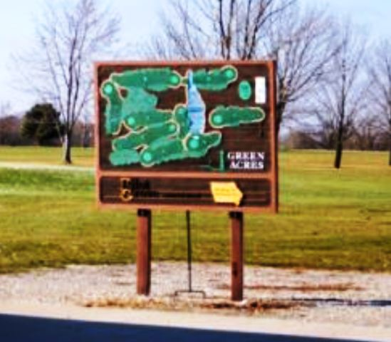Green Acres Country Club, Donnellson, Iowa,  - Golf Course Photo