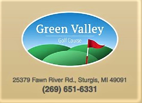 Golf Course Photo, Green Valley Golf Course, Sturgis, Michigan, 49091