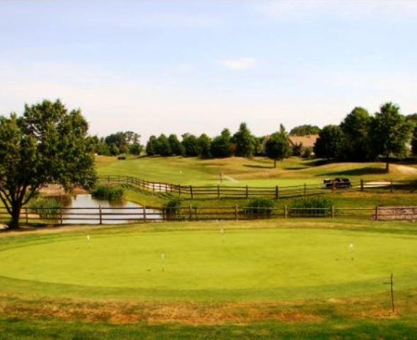 Golf Course Photo, Greenbrier At Whittingham, Greenbrier Golf Course, Jamesburg, 08831