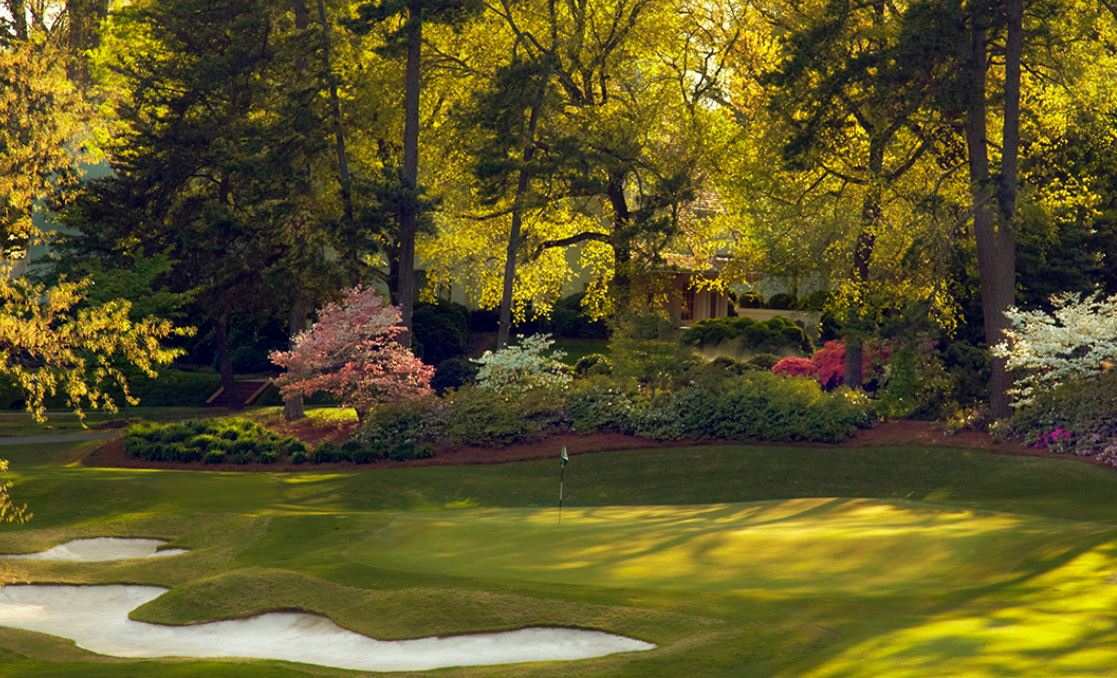 Greensboro Country Club, Irving Park Course, Greensboro, North Carolina,  - Golf Course Photo