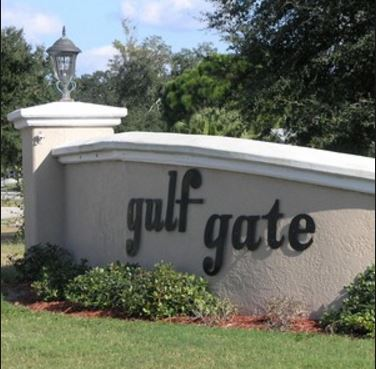 Golf Course Photo, Gulf Gate Golf Course, Blue Course, Sarasota, 34231