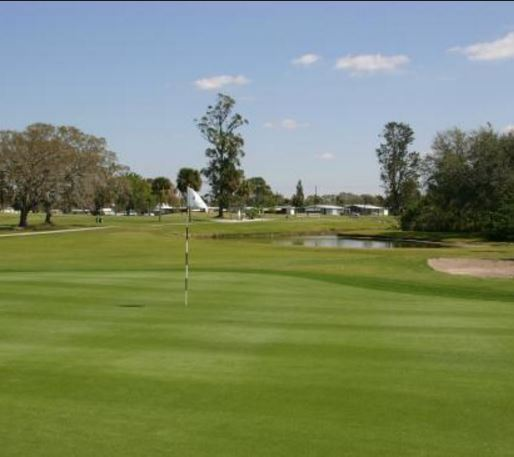 Gulf Gate Golf Course, Red Course,Sarasota, Florida,  - Golf Course Photo