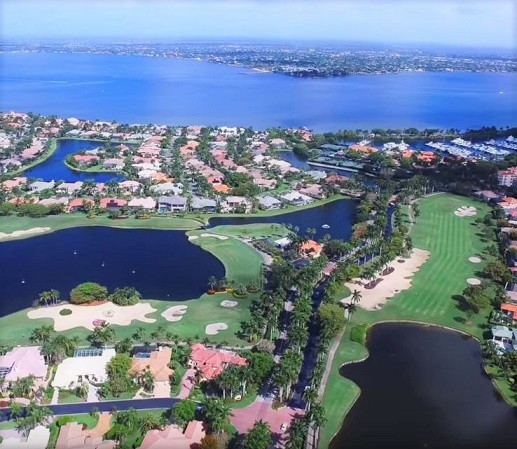 Golf Course Photo, Gulf Harbour Yacht & Country Club, Fort Myers, Florida, 33908