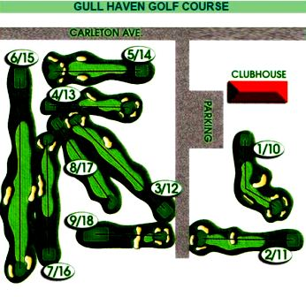 Golf Course Photo, Gull Haven Golf Club, Central Islip, 11722