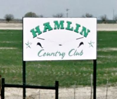 Hamlin Golf Course, Hamlin, Texas, 79520 - Golf Course Photo