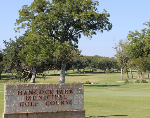 Golf Course Photo, Hancock Park Municipal Golf Course, Lampasas, Texas, 76550