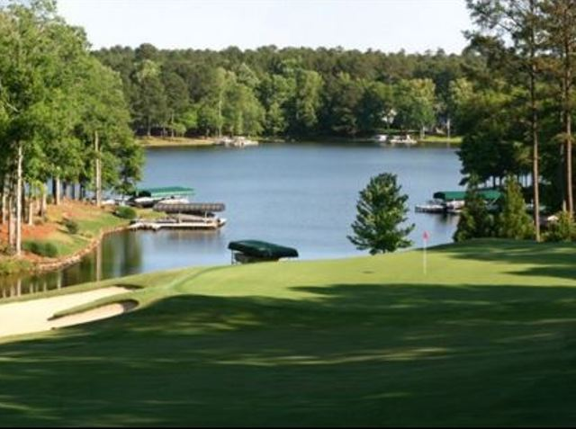 Golf Course Photo, Harbor Club Golf & Country Club, Greensboro, 30642
