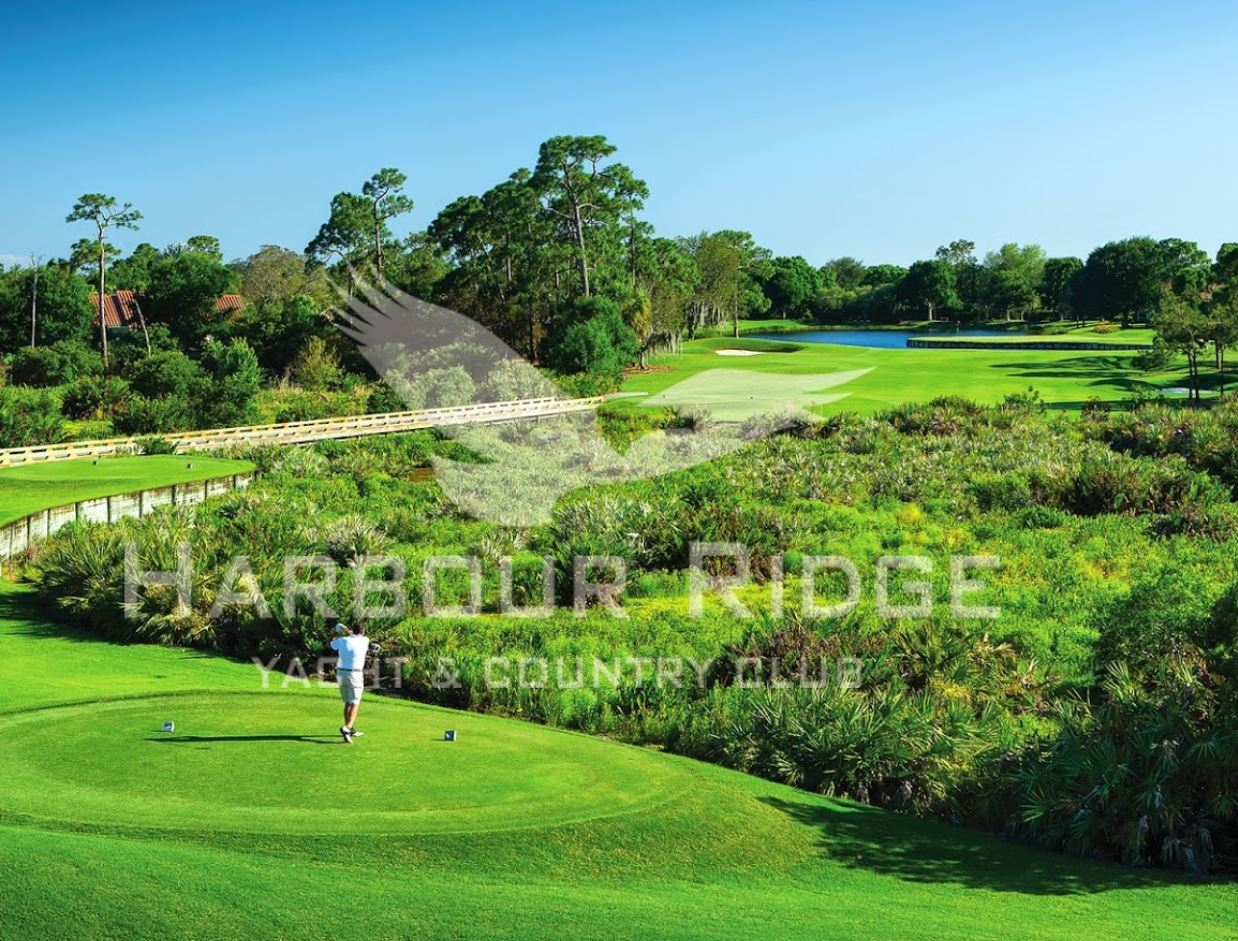 Harbor Ridge Yacht & Country Club, River Ridge Course,Palm City, Florida,  - Golf Course Photo