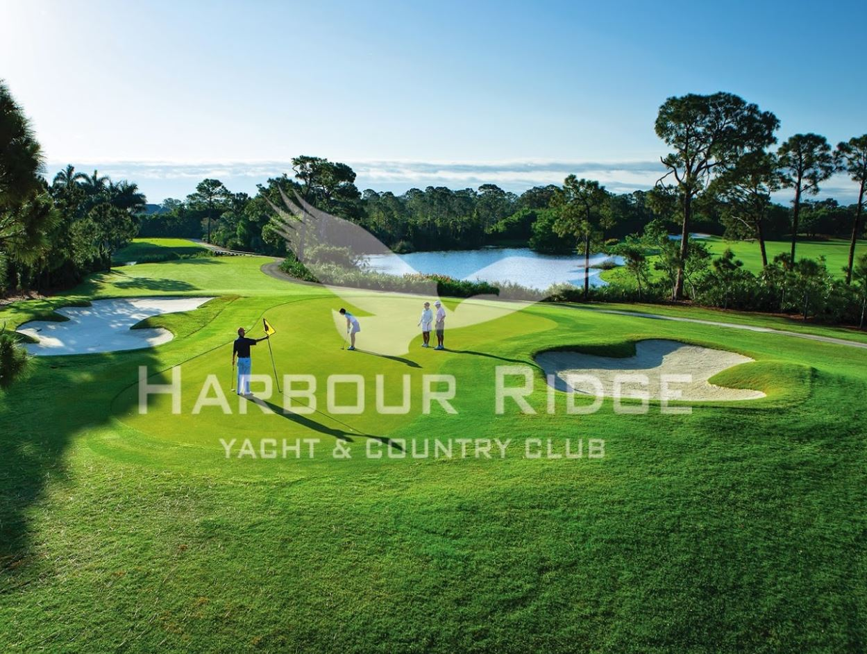 Harbor Ridge Yacht & Country Club, Golden Marsh Course,Palm City, Florida,  - Golf Course Photo