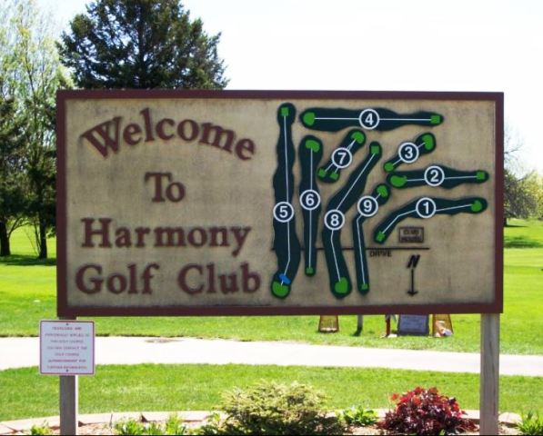 Harmony Golf Club, Harmony, Minnesota,  - Golf Course Photo