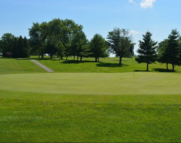 Golf Course Photo, Hartley Hills Country Club, Hagerstown, 47346
