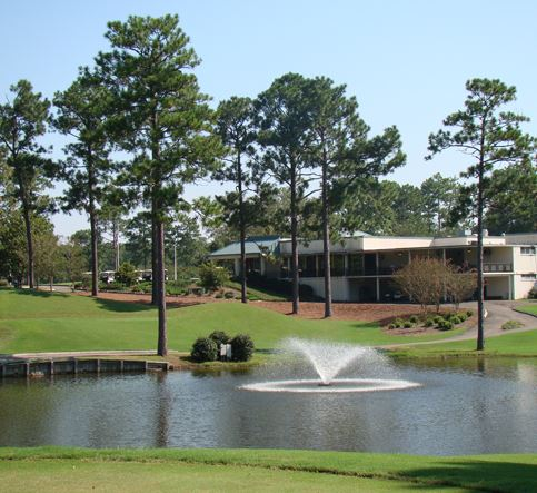 Golf Course Photo, Hattiesburg Country Club, Hattiesburg, Mississippi, 39402