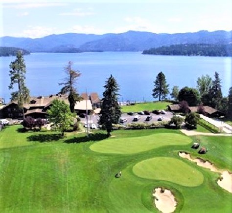 Golf Course Photo, Hayden Lake Country Club, Hayden Lake, Idaho, 83835
