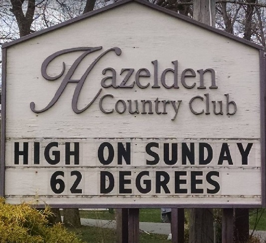 Hazelden Country Club, Closed 2020