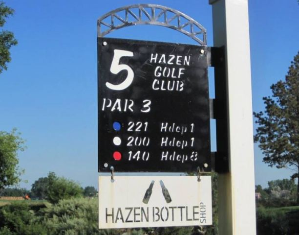 Hazen Golf Club,Hazen, North Dakota,  - Golf Course Photo