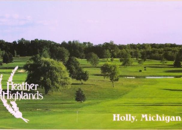 Golf Course Photo, Heather Highlands Golf Club, Championship Course, Holly, 48442